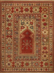 Turkish Melez Prayer Rug