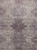 Hand-Knotted Contemporary Bamboo Silk & Wool Gray-Purple Area Rug